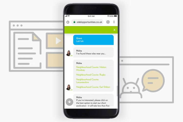 Candidate Experience Chatbots by Meet & Engage